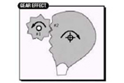Mover la bola y Gear effect