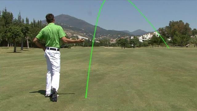 Palos de golf a medida y slice