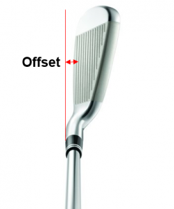 Offset de un palo de golf