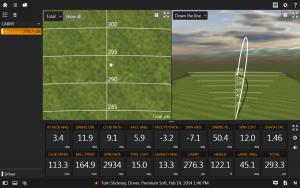 Términos del swing de golf - Golf draw