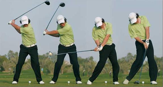 Términos del swing de golf - Golf lag