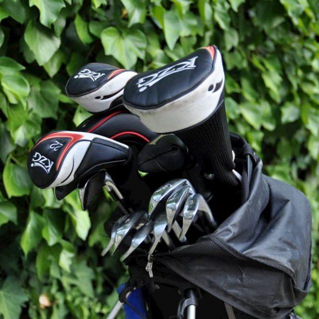 Composición de la bolsa de golf