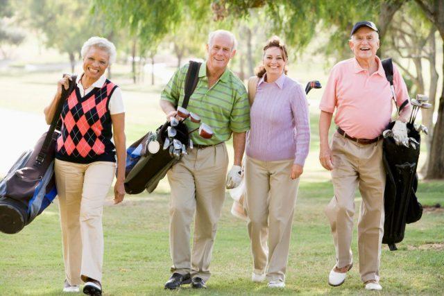 Palos de golf para seniors